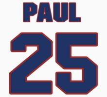 National Hockey player Paul Guay jersey 25 by imsport