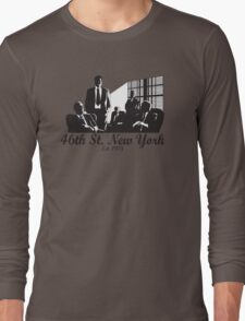 46th St. New York (Women's) Long Sleeve T-Shirt