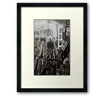Pouring Framed Print