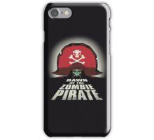 Dawn of the Zombie Pirate iPhone Case/Skin
