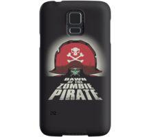 Dawn of the Zombie Pirate Samsung Galaxy Case/Skin