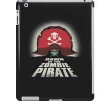 Dawn of the Zombie Pirate iPad Case/Skin