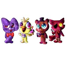 Five (Adorable) Nights at Freddy's Photographic Print