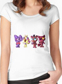 Five (Adorable) Nights at Freddy's Women's Fitted Scoop T-Shirt