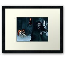 What Do I Want With Snowballs? Framed Print