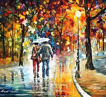 Favorite Park — Buy Now Link - www.etsy.com/listing/217331445 by Leonid  Afremov