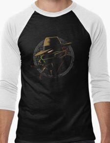 Undercover Ninja Raph Men's Baseball ¾ T-Shirt