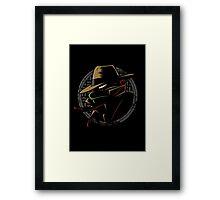 Undercover Ninja Raph Framed Print