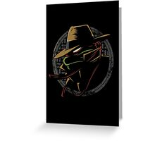 Undercover Ninja Raph Greeting Card