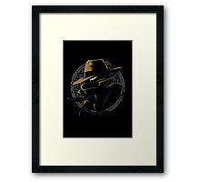Undercover Ninja Leo Framed Print