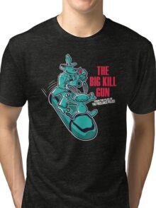The Big Kill Gun Tri-blend T-Shirt