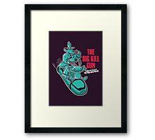 The Big Kill Gun Framed Print