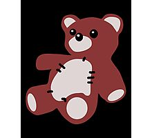 TEDDY BEAR TOY  Photographic Print