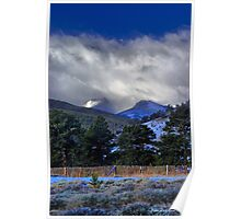 A Mountain Morning Poster