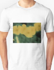 Flowers in Yellow and Green T-Shirt
