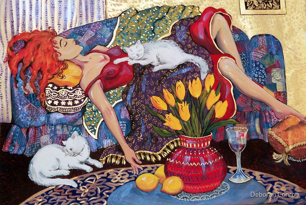 Woman Resting by Deborah Conroy