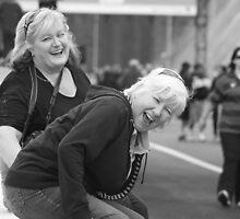 Laughter at Eastlink walk by Maureen Clark