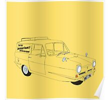 Only Fools and Horses Robin Reliant Poster
