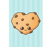 Heart Cookie Photographic Print