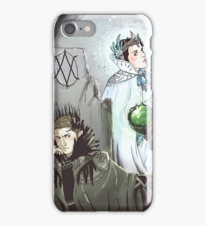 Witch King and Moonbeam iPhone Case/Skin