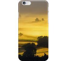 Rolling Golden Morning Mist iPhone Case/Skin