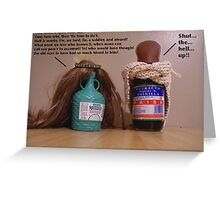 My Pantry Does Shakespeare: Macbeth Greeting Card