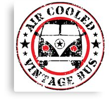 Air Cooled VW Bus Canvas Print