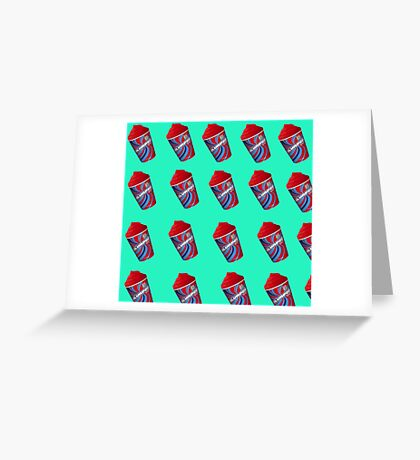 """Heathers The Musical """"Freeze Your Brain"""" Greeting Card"""