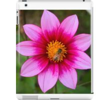 Flower and Bee  iPad Case/Skin
