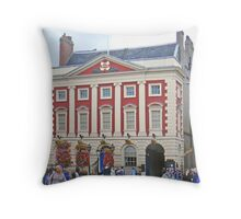 The Mansion House Throw Pillow