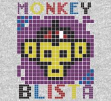Monkey Blista Mosaic Kids Tee