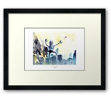 The Jolly Rampage! Framed Print