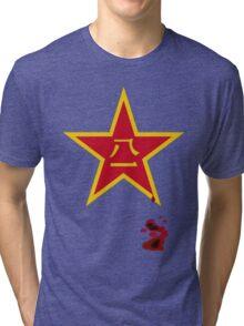 Peoples' libertation star Tri-blend T-Shirt