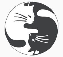 Ying Yang Kitty by erinaugusta