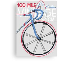 Ride Vintage Special Canvas Print