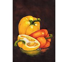 Shelley's Bell Peppers Photographic Print