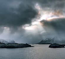 Outside Svolvaer by Andreas Stridsberg