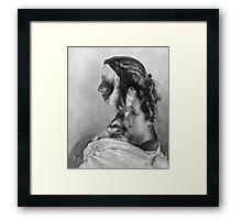 Ghosts of Men & Women Series. Framed Print