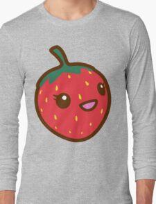 Kawaii Strawberry Long Sleeve T-Shirt