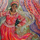 Indian Dancer by Deborah Conroy