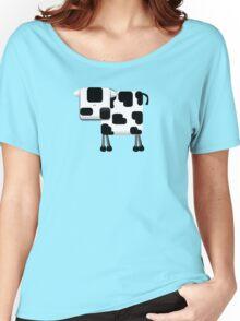 Little Moo TShirt Women's Relaxed Fit T-Shirt