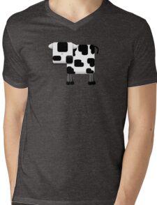 Little Moo TShirt Mens V-Neck T-Shirt