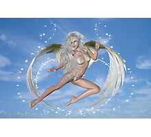 Elemental dreams, Angel in Flight Photographic Print