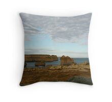 Otherside of Loch Ard Gorge Throw Pillow