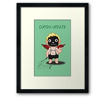 Cupido Update Framed Print