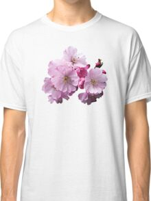 Closeup of Cherry Blossoms Classic T-Shirt