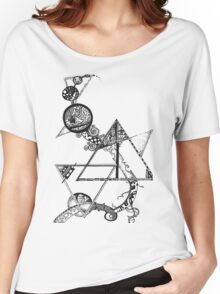 Time and space (black design) Women's Relaxed Fit T-Shirt