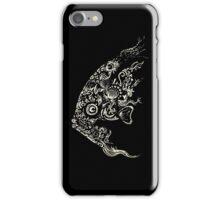 Le poisson (black) iPhone Case/Skin