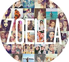 Zoella / Zoe Sugg Circle Collage by chloeambercat