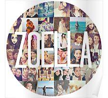 Zoella / Zoe Sugg Circle Collage Poster